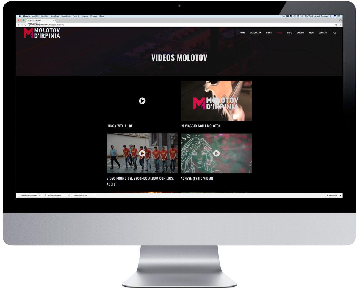 Sito web molotov d 39 irpinia arteteke for Sito web design piano piano